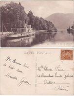 ANNECY - FRANCIA - FRANCE - LE PORT ET LE JARDIN PUBLIC - VIAGG. -69363- - Postcards