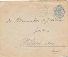 NIEDERLÄNDISCH-INDIEN / NEDERLANDSCH-INDIE  -  PASOEROEAN  - 1925 , Ganzsache  , Big Letter, Dispatch = 4,20 € - Niederländisch-Indien