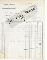 75 - Paris - PARIS - Facture ANDRE CITROËN - Ingénieur Constructeur - 1924 - REF 135C - France