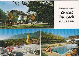 """CALDARO - BOLZANO - PENSIONE """"CHRISTL IM LOCH"""" - VIAGG. -60618- - Bolzano (Bozen)"""