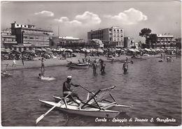 CAORLE - VENEZIA - SPIAGGIA DI PONENTE S. MARGHERITA - VIAGG. 1962 -57778- - Venezia