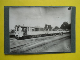 Photo ,Tramway,automotrice ,gare De ROGUET - Lieux