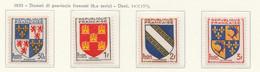 PIA - FRA - 1953 : Stemmi Di Provincie - (Yv 951-54) - Francia