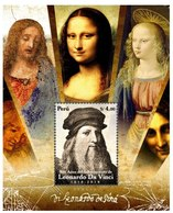Peru 2020 Leonardo Da Vinci SS MNH - Famous People