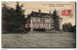 Anjou - Chateau De Danne - St Martin Du Bois - CPA - Saumur
