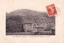 CPA : Le   Pouzin (07)  Vue Générale Des Montagnes Du Gras      Ed  Broglio Patissier - Le Pouzin