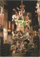 ES VALENCIA - La FALLA - Carnaval Géants - Animée - Belle - Carnevale