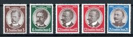 Deutsches Reich MiNr. 540-43 Postfrisch MNH Incl. 542 X + Y (G706 - Germany