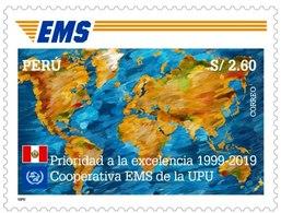 Peru 2020 Express Mail Service 1v MNH - Peru