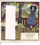 Dépliant Touristique Des Années 50-60  Sur Le Vignoble En ALSACE Albert Bayer Domaines SCHLUMBERGER à Guébwiller - Tourism Brochures