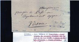 CG20  Lett. Da Ivrea X Novara 14/1/1812 - Italia