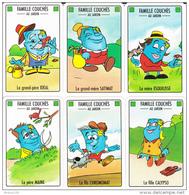 JEU DES 7 FAMILLES ARJOMARI DIFFUSION - 7 X 6 CARTES - PAPETERIES De FRANCE - Voir Descriptif - 10 Scans - - Cartes à Jouer Classiques