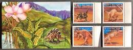 Central Africa 2001 Dinosaurs , MNH [8;31] - Vor- U. Frühgeschichte