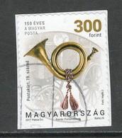 Hongarije, Yv 4665 Jaar 2017, Gestempeld Op Papier - Ungarn