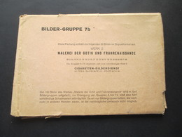 Bilder Gruppe 7b Originalpackung Malerei Der Gotik Und Frührenaissance Cigaretten Bilderdienst Altona 20 Bilder - Collections & Lots