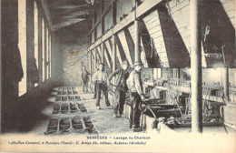 30 GARD Le Lavage Du Charbon Aux Mines De BESSEGES Cliché Coutarel Artige - Bessèges
