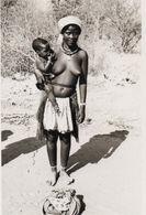 Photo. 10. Afrique Noire. Femme Aux Seins Nus. Circa 1940 12x8,5 - Afrique Du Sud, Est, Ouest