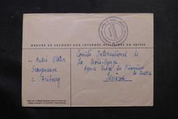 SUISSE - Enveloppe Du Camp D'Internement De Grangeneuve Pour Genève  - L 55767 - Storia Postale