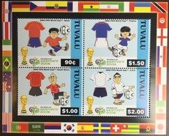 Tuvalu 2006 World Cup Minisheet MNH - Tuvalu