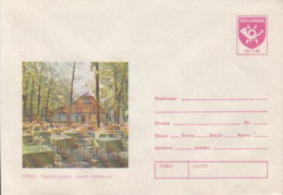 85849- PITESTI HUNTER'S HORN INN, COVER STATIONERY, 1981, ROMANIA - Entiers Postaux