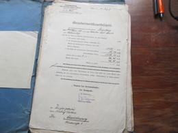 Alte Dokumente / Amtsbriefe 1916 - 1930er Jahre Fast Alles Aus Dem Osthavelland Interessant??!! - Historische Dokumente