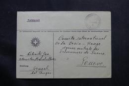SUISSE - Enveloppe Du Camp D'Internement De Sirnach Pour Genève  - L 55781 - Storia Postale