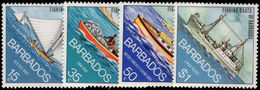 Barbados 1974 Fishing Boats Unmounted Mint. - Barbados (1966-...)