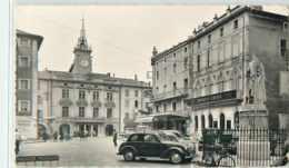 19935 - ORANGE - CPSM - LA PLACE ET L HOTEL DE VILLE - Orange