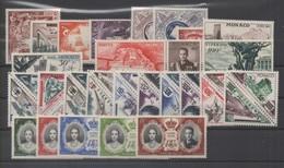 MONACO ANNEE COMPLETE 1956 XX MNH - Monaco