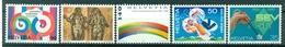 Suisse  1989 - Y & T N. 1327/31 - Anniversaires Et événement - Suisse