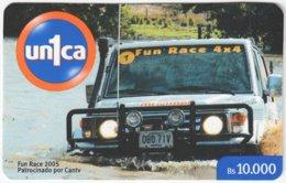 VENEZUELA A-937 Prepaid Un1ca - Traffic, Car, Offroad - Used - Venezuela