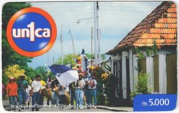 VENEZUELA A-943 Prepaid Un1ca - People, Streetlife - Used - Venezuela