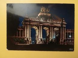 CARTOLINA POSTCARDS BELGIO BELGIQUE 1973 BRUXELLES BRUSSEL MONUMENT CINQUANTENAIRE  OBLITERE' - Monumenti, Edifici
