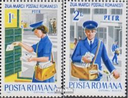Rumänien Mi.-Nr.: 3905-3906 (kompl.Ausg.) Postfrisch 1982 Tag Der Briefmarke - 1948-.... Republiken