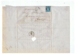 ENTREPRISE à ANOR (NORD) DEPART TRELON Pour ROUBAIX (NORD) 1864 - 1849-1876: Klassik