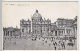 (4142) AK Rom, Vatikan, Petersdom, Bis 1905 - Vatikanstadt