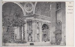 (4155) AK Rom, Vatikan, Petersdom, Inneres, Bis 1905 - Vatikanstadt