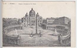 (4190) AK Rom, Vatikan, Petersplatz, Petersdom, Bis 1905 - Vatikanstadt