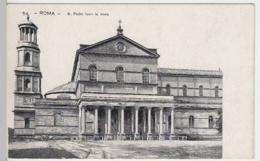(4215) AK Rom, Vatikan, St. Paul Vor Den Mauern, Bis 1905 - Vatikanstadt