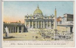 (4410) AK Rom, Vatikan, Petersdom, Petersplatz 1904 - Vatikanstadt