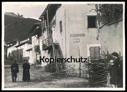 ALTE KARTE LEVICO TERME VIA CAROTTE Löweneck Trento Trentino Südtirol Italien Italia Italy Ansichtskarte Cpa Postcard AK - Trento