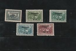 1939 MNH Mint Never Hinged Sc. B12-B16, Yv. 340-344, Mi. 370-374                            111 - Nuovi
