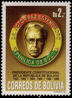 Bolivia 1994 Dr Victor Paz Estenssoro Unmounted Mint. - Bolivie