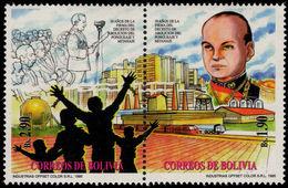 Bolivia 1996 Abolition Of Slavery Unmounted Mint. - Bolivie