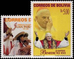 Bolivia 2005 Pope John Paul Unmounted Mint. - Bolivie