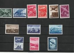 1940 MNH Mint Never Hinged Sc. C19-C30, Yv. PA19-PA30, Mi. 377-388                          112 - Nuovi