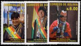 Bolivia 2006 Juan Evo Morales Unmounted Mint. - Bolivie