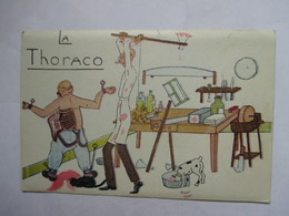 CHIRURGIE   -   LA  THORACO              TTB - Humour