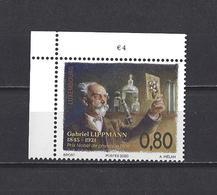 Luxembourg: Nouveauté 2020 ** Gabriel Lippmann - Prix Nobel De Physique En 1908 - Prix Nobel