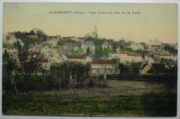 CLERMONT Vue Prise Du Bas De La Ville - Clermont